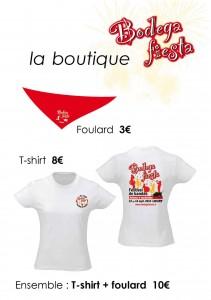 A4 T-shirt-Foulard